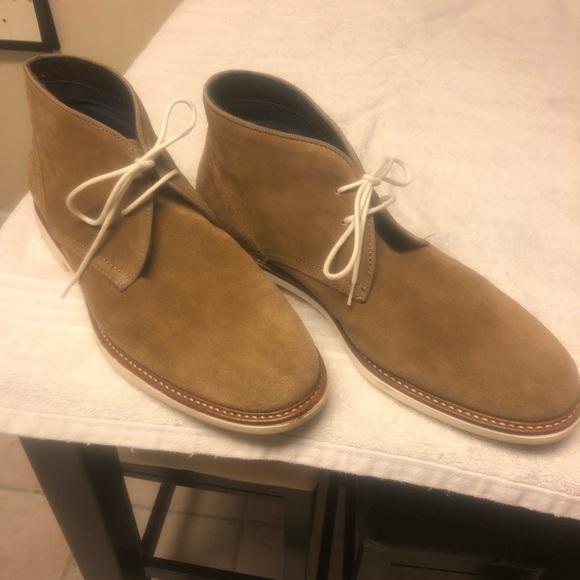 Wallis Chukka Boots White Sole